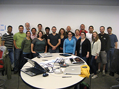 Brown XROMM Summer Short Course 2013 participants and instructors.