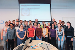 Brown XROMM Summer Short Course 2014 participants and instructors.